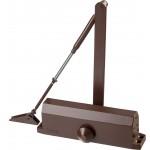 Доводчик дверной ЗУБР ПРОФЕССИОНАЛ, для дверей массой до 100 кг, цвет коричневый
