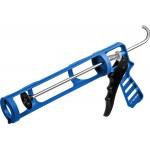 Cкелетный пистолет для герметика ДОКА, антикапельная система, 310 мл. ЗУБР Профессионал