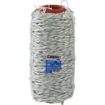 Фал плетёный капроновый СИБИН 16-прядный с капроновым сердечником, диаметр 6 мм, бухта 100 м, 650 кгс
