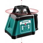 Ротационный лазерный нивелир RL600, сверхъяркий, KRAFTOOL 34600, 600м, IP54, точн. 0,2 мм/м