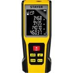 Дальномер лазерный, LDM-60, дальность 60 м, 5 функций, STAYER Professional