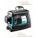 Нивелир лазерный LL-3D-2, 360 градусов, 20м / 70м (детектор), сверхъяркий, KRAFTOOL 34640-2, IP54, точн. 0,2 мм/м, держатель, сумка, лазерная мишень,