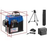 Нивелир лазерный 3х360°, 20м/70м, точн. +/-0,3 мм/м, штатив, ЗУБР КРЕСТ 3D №2