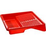 Ванночка ЗУБР малярная пластмассовая, для валиков до 270 мм, 360х360мм, 1,3л