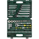 Набор KRAFTOOL EXPERT 27887-H82_z02. Торцовые головки SUPER LOCK с присоединит квадратом, 1/2',1/4',82 предмета