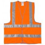 Жилет сигнальный STAYER MASTER, оранжевый, размер XL (50-52)