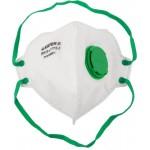Полумаска фильтрующая STAYER PROFI плоская, с клапаном, многослойная, класс защиты FFP2