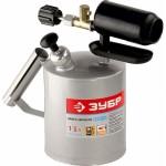 Лампа паяльная ЗУБР 40650-2.0, стальная, 2 л