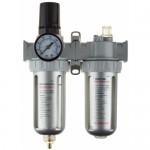 Набор аксессуаров для пневмосистем KRAFTOOL, 06505 - манометр, влагоотделитель, смазчик
