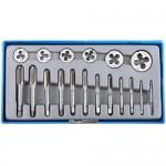 Набор ЗУБР МАСТЕР 28120-H18  с металлорежущим инструментом, 18 предметов