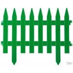 Забор декоративный GRINDA КЛАССИКА, 28x300см, зеленый