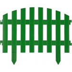 Забор декоративный GRINDA АР ДЕКО, 28x300см, зеленый