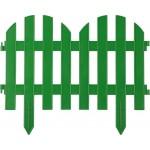 Забор декоративный GRINDA ПАЛИСАДНИК, 28x300см, зеленый