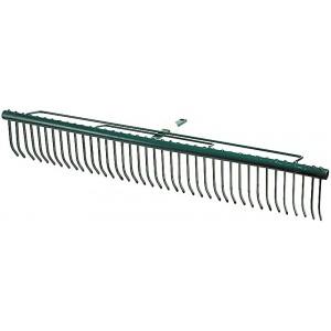 Грабли RACO MAXI, для очистки газонов, с быстрозажимным механизмом, 39 зубцов / 680мм