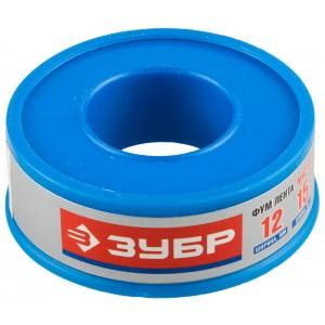 Фумлента ЗУБР МАСТЕР, плотность 0,40 г/см3, 0,1ммх12ммх15м