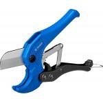Ножницы автоматические с лезвием из инструментальной стали У8А для пластиковых труб, максимальный d=42 мм, ЗУБР Профессионал