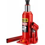 Домкрат гидравлический бутылочный RED FORCE, 2т, 181-345 мм, STAYER 43160-2_z01