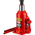 Домкрат гидравлический бутылочный RED FORCE, 20т, 242-452 мм, STAYER 43160-20