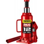 Домкрат гидравлический бутылочный RED FORCE, 12т, 230-465 мм, STAYER 43160-12