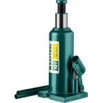 Домкрат гидравлический бутылочный Kraft-Lift, сварной, 10т, 230-456мм, KRAFTOOL 43462-10